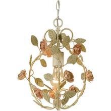 See Details - AF Lighting Ramblin' Rose Mini Chandelier, 7051-1H