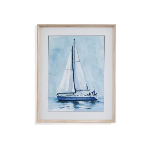 Bassett Mirror Company - Lone Sailboat I