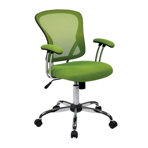Juliana Task Chair In Green Mesh