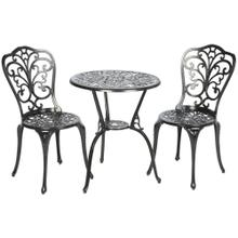 Triora 23.5R-2 Bistro Set, Blacksmith