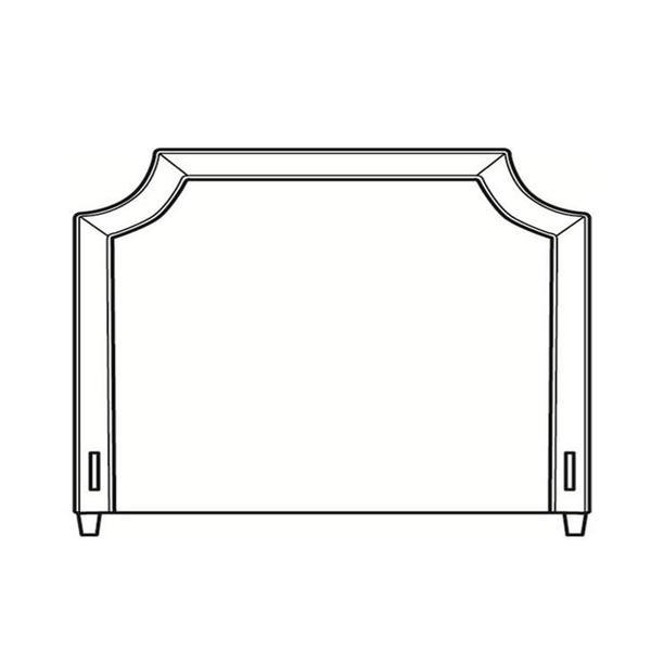 See Details - King Short Headboard