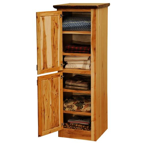 Linen Cabinet - 18-inch - Cinnamon - Hinge Left
