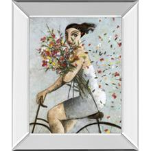 """Petals"" By Lourenco Mirror Framed Print Wall Art"