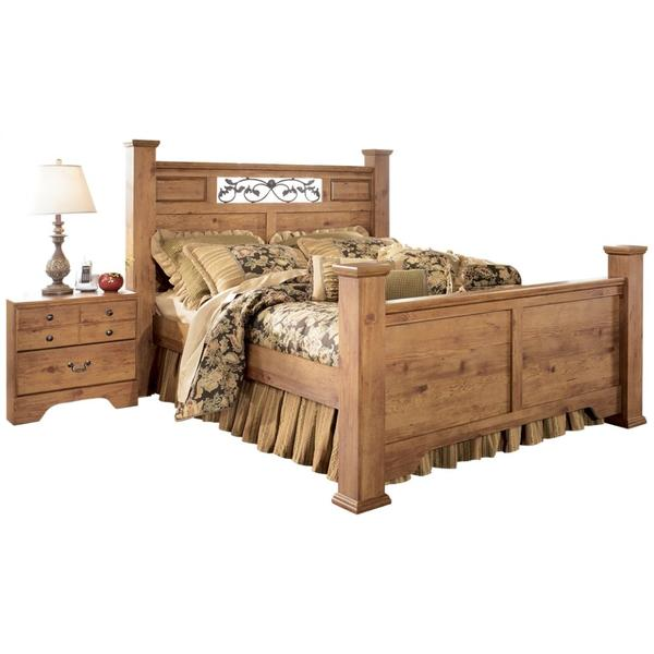 See Details - Bittersweet Queen Poster Bed