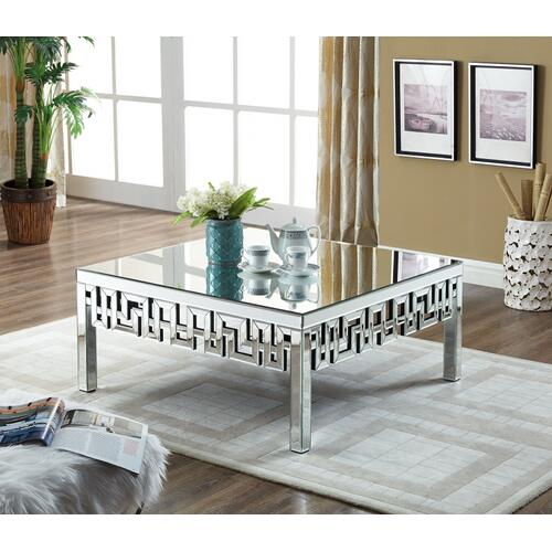 "Aria Coffee Table - 39"" W x 39"" D x 18"" H"