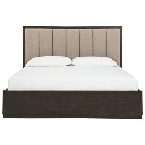 Bruxworth King Upholstered Panel Bed
