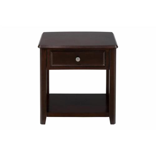 Corranado Espresso End Table
