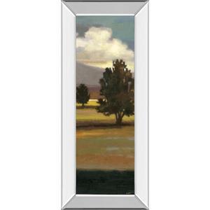 """Mountain Range IV"" By Norman Wyatt, Jr. Mirror Framed Print Wall Art"