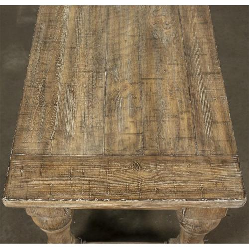 Sonora - Dining Bench - Snowy Desert Finish