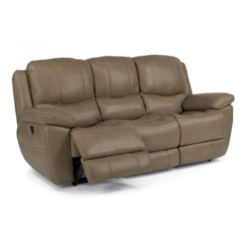 Product Image - Estella Leather Power Reclining Sofa