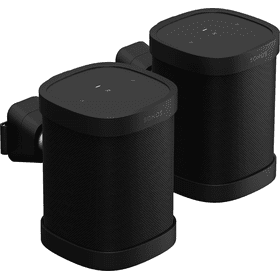 Black- Sonos Wall Mount (Pair)