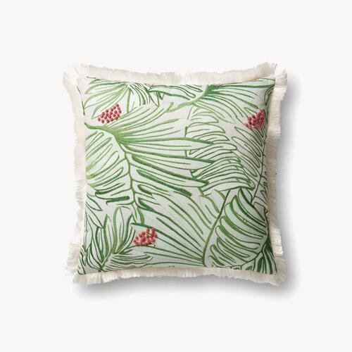 P0481 Green / Multi Pillow