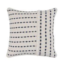 See Details - Katia Ivory Navy Pillow