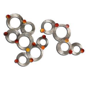 Artisan House - Radiant Circles S/2