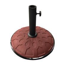 25-Pound Resin Compound Umbrella Base - Terra Cotta