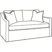 Oliver Bench Seat Loveseat with Slipcover