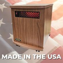 View Product - Original SUNHEAT USA1500-M Infrared Heater - American Walnut