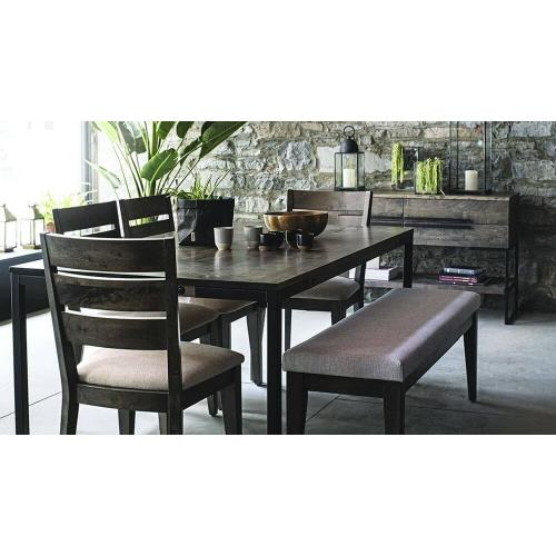 Gallery - Rectangular table with legs