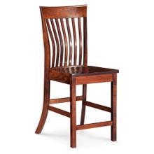 "View Product - Loft II Stationary Barstool, 30"" Seat Height / Fabric Cushion Seat"