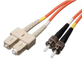 Duplex Multimode 62.5/125 Fiber Patch Cable (SC/ST), 8M (25 ft.)