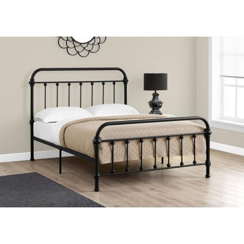Gallery - BED - FULL SIZE / BLACK METAL FRAME ONLY