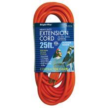See Details - 12/3 25 ft. Orange Extension Cord
