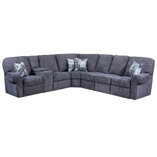 57005 Windsor Left Arm Facing Reclining Loveseat