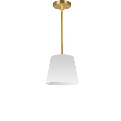 1lt Oversized Drum Pendant X-small, Wh Shade
