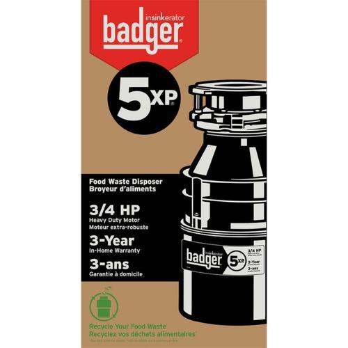 Badger 5XP Garbage Disposal