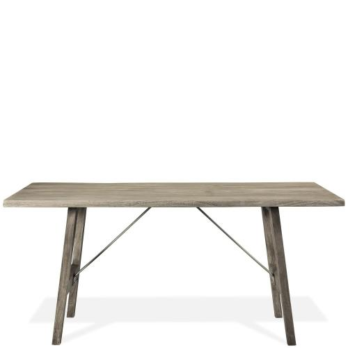 Waverly - Counter Height Dining Table - Sandblasted Gray Finish