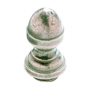 "Acorn Finial Cap 7/8"" Barrel Silicon Bronze Brushed Product Image"