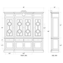 See Details - Burlington Large Bookcase