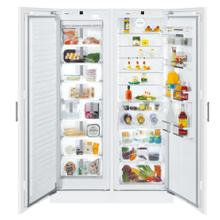 "48"" Refrigerator with BioFresh for integrated use Freezer for integrated use with NoFrost"
