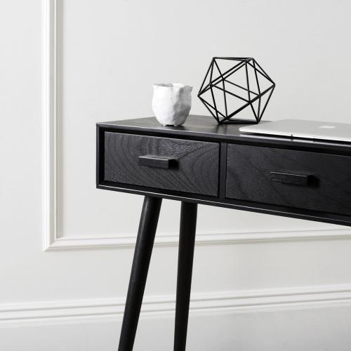 Safavieh - Albus 3 Drawer Console Table - Black