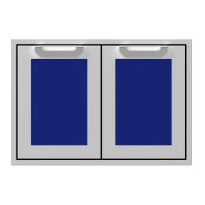 """30"""" Hestan Outdoor Double Storage Doors - AGSD Series - Prince"""