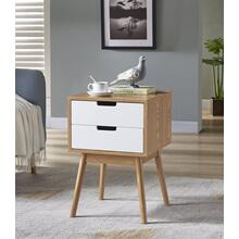 7088 Two-Tone End Table