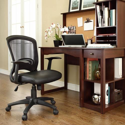 Pulse Vinyl Office Chair in Black