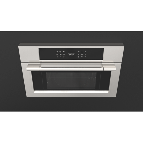 """30"""" Steam Oven - Stainless Steel"""