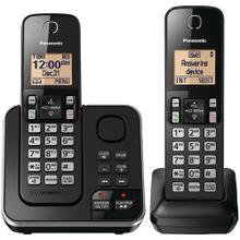 See Details - 2-Handset Expandable Cordless Phone with Answering System