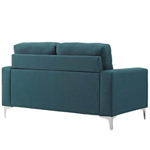 Allure Upholstered Sofa in Blue