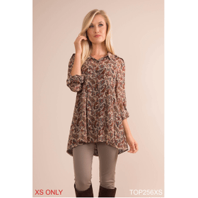 Fall for Paisley Top - XS (3 pc. ppk.)
