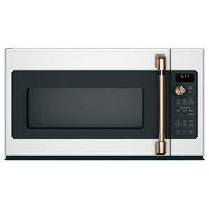 1.7 Cu. Ft. Convection Over-the-Range Microwave Oven - MATTE WHITE