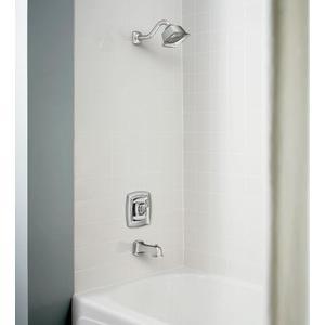 Boardwalk chrome posi-temp® tub/shower