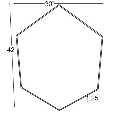 """Mclin MCN-001 42""""H x 30""""W"""