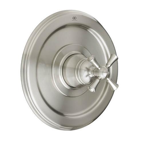 Dxv - Randall Pressure Balanced Shower Valve Trim with Cross Handle - Brushed Nickel