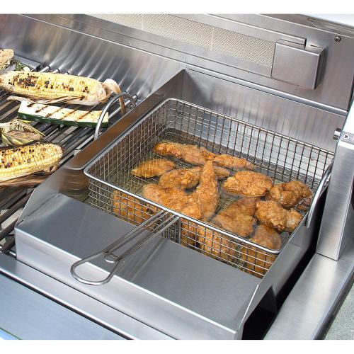 Alfresco - Grill Mounted Steamer/Fryer