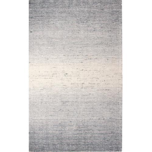 Company C - Retired Sari Stripe Rug, BLACK, 5X8
