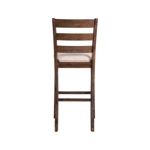 "Jax 30"" Ladder Back Bar Stool Set"