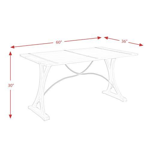 Callista Folding Top Dining Table
