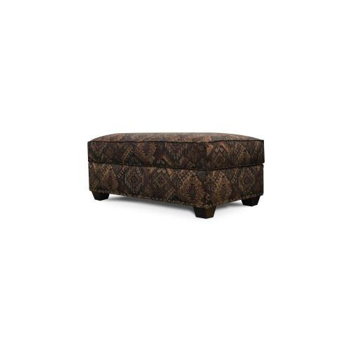 V22581N Storage Ottoman with Nails